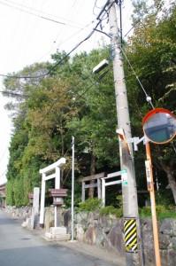 小俣神社と八柱神社