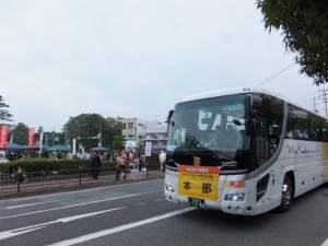 本部車(外宮前バス停広場付近)