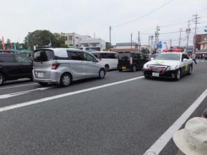 基準車(外宮前バス停広場付近)