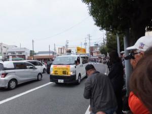 広報車3(外宮前バス停広場付近)