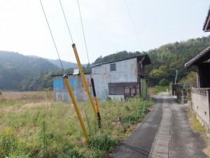 高泉院から江神社への途中(二見町江)