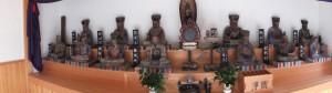 大江寺参道入口付近にある十王堂(二見町江)