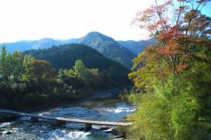 高見山へ向かう途中で見かけた紅葉(飯高町にて)