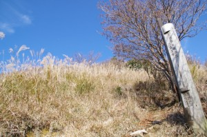休憩広場(大峠の登山口〜高見山山頂)