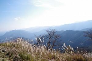 休憩広場からの眺望(大峠の登山口〜高見山山頂)