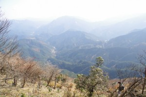 眺望(大峠の登山口〜高見山山頂)