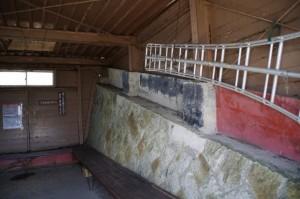 避難小屋の内部(高見山山頂)