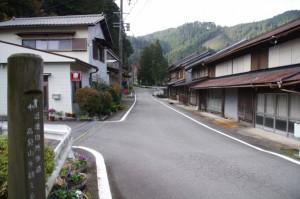 波瀬神社付近(飯高町波瀬)