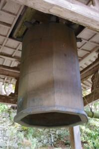 天開山 泰運寺の八角大釣鐘(飯高町波瀬)