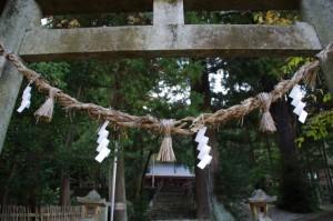 黒瀧神社(松阪市飯高町森)