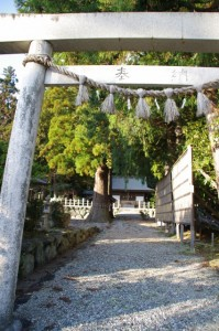 乳峯神社(松阪市飯高町七日市)