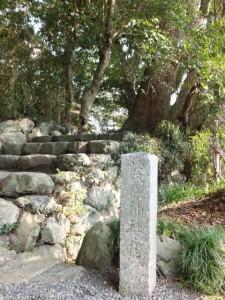 葭原神社(月讀宮の参道脇)