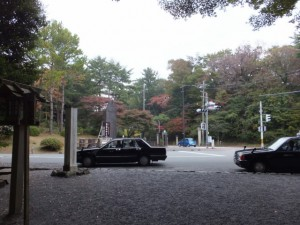 表参道入口からの風景(倭姫宮)