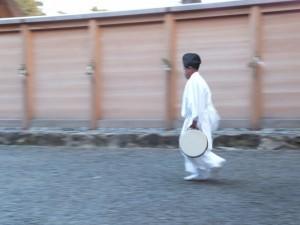 新嘗祭の朝(外宮)