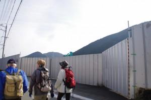 廃校になり校舎が解体された旧三重県立宮川高等学校跡地