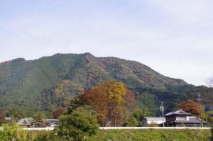 三瀬砦跡入口付近(大台町下三瀬)からの風景