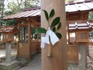 上長屋神社(伊勢市御薗町)