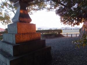 紅葉の御薗神社(伊勢市御薗町)