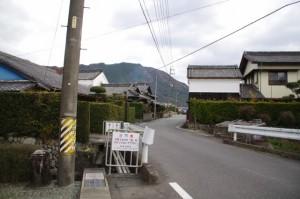 岩船橋(三重県立宮川高等学校の跡地付近から大谷不動方向へ)