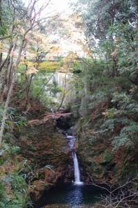 大谷不動明王の清滝(大台町上三瀬)