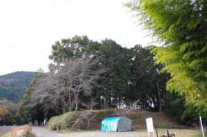 三瀬砦跡(大台町下三瀬)