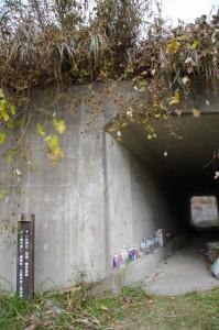 国道42号のトンネル(三瀬の渡しから下三瀬八柱神社へ)