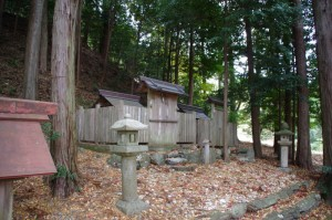 八柱神社(大台町下三瀬)