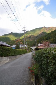 下三瀬八柱神社〜下三瀬跨線橋(JR紀勢本線)