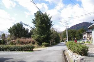 道標(下三瀬跨線橋(JR紀勢本線)付近)