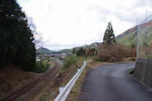 道標(下三瀬跨線橋〜茶臼山)