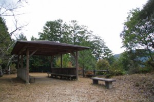 茶臼山の広場(大台町)