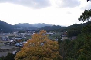 茶臼山山頂からの眺望(大台町)