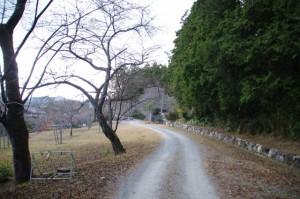 茶臼山の説明板付近〜三瀬館跡(大台町)