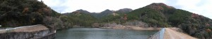 大谷川の水源である東池(大台町)