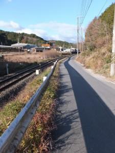 熊野古道伊勢路(JR紀勢本線 新田踏切〜バカ曲がり)