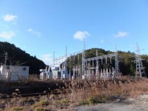 中部電力 栃原変電所