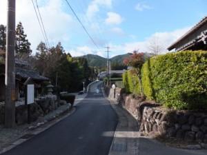 神瀬の多種神嗣の説明板(熊野古道伊勢路)