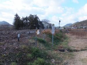 JR紀勢本線 下楠踏切から線路に沿って川添駅へ