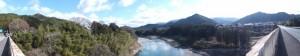 七保大橋(宮川)から望む下流側