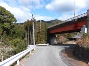 七保大橋(宮川)下、 (16) 打見八柱神社付近