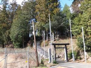 (16) 打見八柱神社付近
