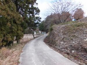 (16) 打見八柱神社〜(15) 大神宮山御幣魚取神社の途中で振り返って望む七保大橋