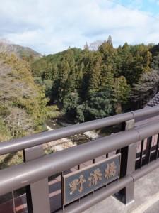 野添橋(藤川)((13) 伊良子清白の碑〜(12) 神正寺)
