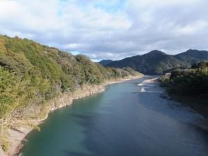 野原橋から望む宮川の下流側、(05) 野原の渡し場