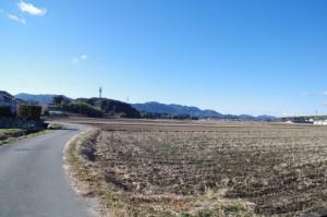 田丸城址搦手道付近から鴨下神社へ